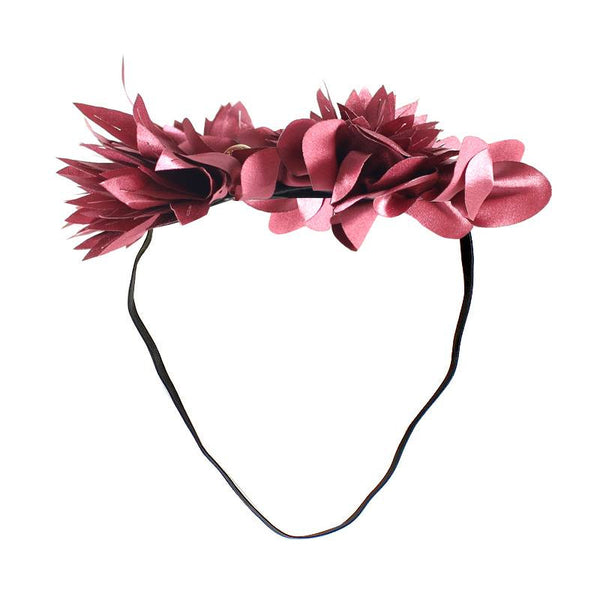 Halo Luxe Ruby Mini Stella Headband available for rent from The Borrowed Boutique.