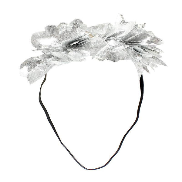 Halo Luxe Sterling Mini Stella Headband available for rent from The Borrowed Boutique.