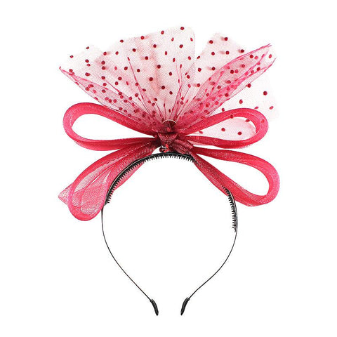 Halo Luxe Scarlet Victoria Headband available for rent from The Borrowed Boutique.