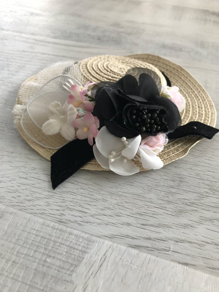 Dollcake Black Beauty Fascinator