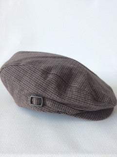 Janie and Jack Houndstooth Newsboy Hat