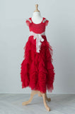 Dollcake It Caught My Heart Frock in Red