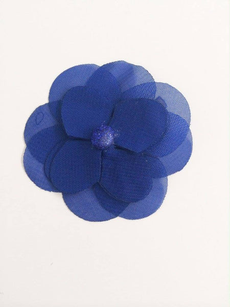 Joyfolie Royal Blue Hair Clip available for rent from The Borrowed Boutique.