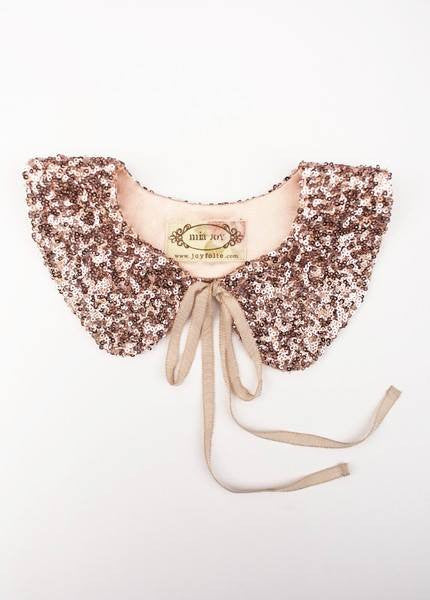 Joyfolie Tabitha Rose Gold Collar available for rent from The Borrowed Boutique.