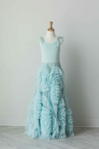 Dollcake Lead The Way Frock in Aqua Blue