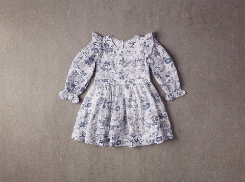 Nellystella Liesl Dress in Toile Floral available for rent from The Borrowed Boutique.