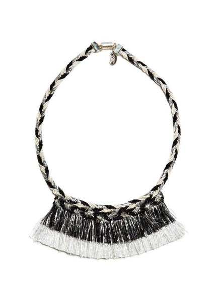 Modern Queen Kids Halloween Sparkle Necklace in Black available for rent from The Borrowed Boutique.