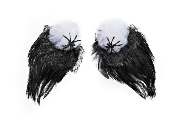Modern Queen Kids Raven Wings in Black available for rent from The Borrowed Boutique.