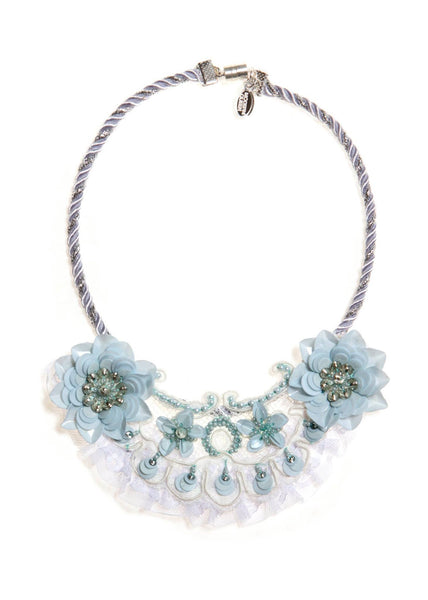 Modern Queen Kids A Shimmering Garden Necklace available for rent from The Borrowed Boutique.