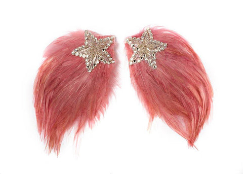 Modern Queen Kids Shooting Star Wings in Rose available for rent from The Borrowed Boutique.