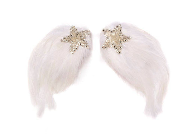 Modern Queen Kids Shooting Star Wings in White available for rent from The Borrowed Boutique.