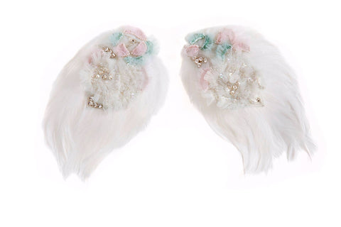 Modern Queen Kids Sparkling Nights Wings available for rent from The Borrowed Boutique.