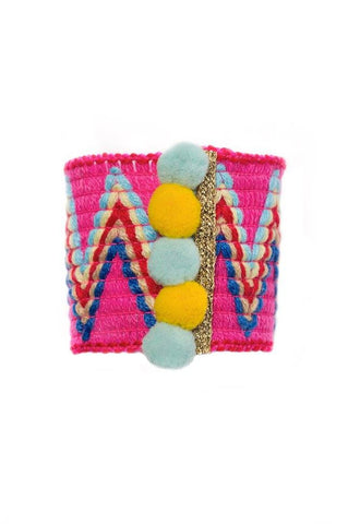 Modern Queen Kids Spring Party Cuff available for rent from The Borrowed Boutique.