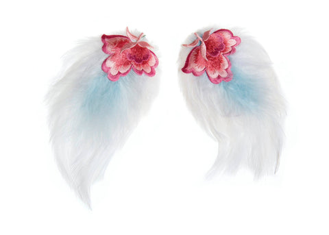 Modern Queen Kids Spring Party Wings available for rent from The Borrowed Boutique.