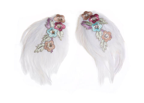 Modern Queen Kids Wildflower Wings available for rent from The Borrowed Boutique.