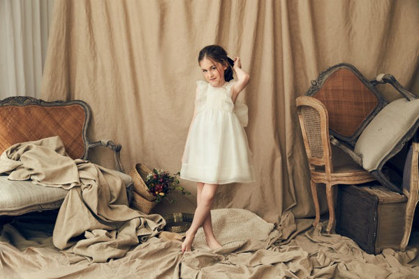 Nellystella Mae Dress In Star White