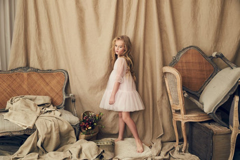 Nellystella Alice Dress In Peony Petal