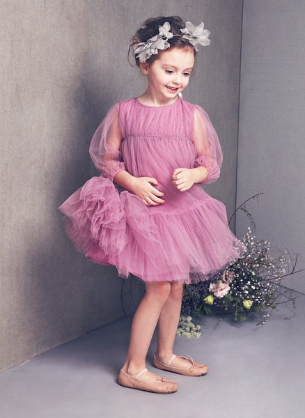 a54b86f4af4a Nellystella Alice Dress In Orchid Bouquet - The Borrowed Boutique