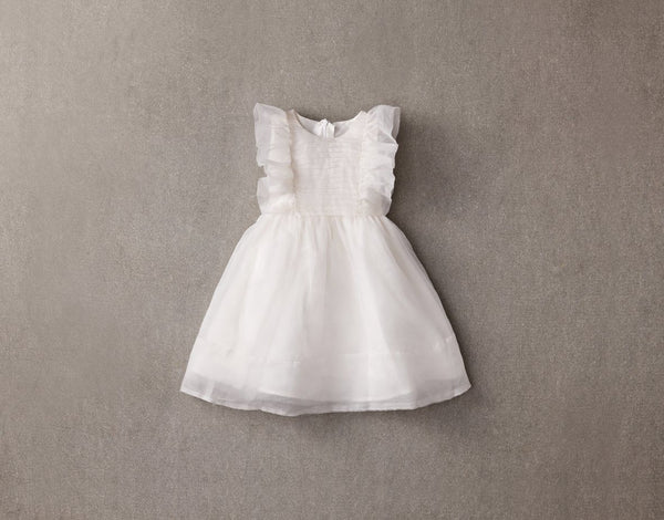 Nellystella Mae Dress in White available for rent from The Borrowed Boutique.