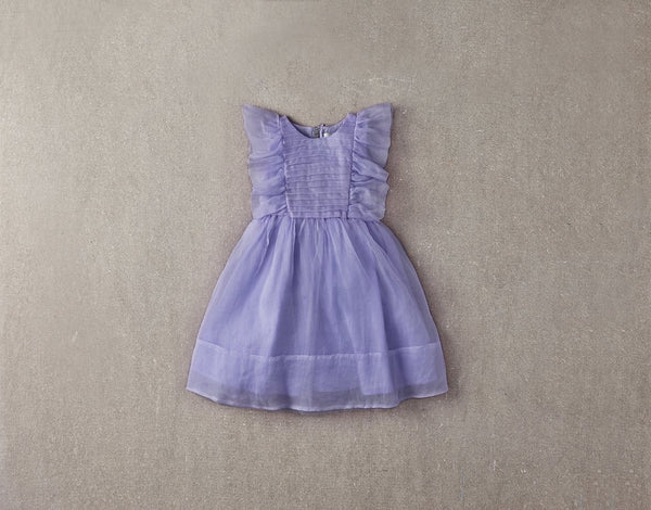 Nellystella Mae Dress in Grapemist available for rent from The Borrowed Boutique.