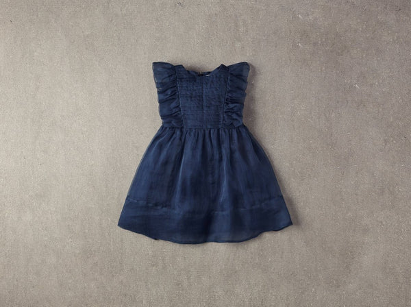 Nellystella Mae Dress in Insignia Blue available for rent from The Borrowed Boutique.