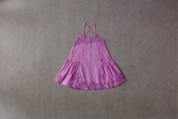 Nellystella Monica Dress In Lavender Magenta