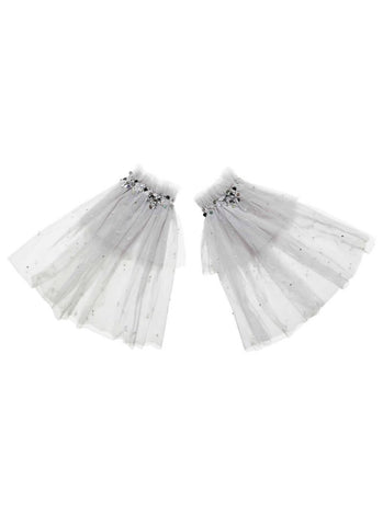 Rent Tutu Du Monde Night Sky Arm Cuffs In Silverlining from The Borrowed Boutique.