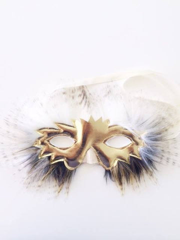 Oh Baby! Snowy Owl Mask available for rent from The Borrowed Boutique.