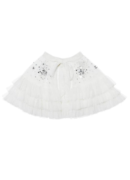 Rent the Tutu Du Monde Opulent Cape In Milk from The Borrowed Boutique.