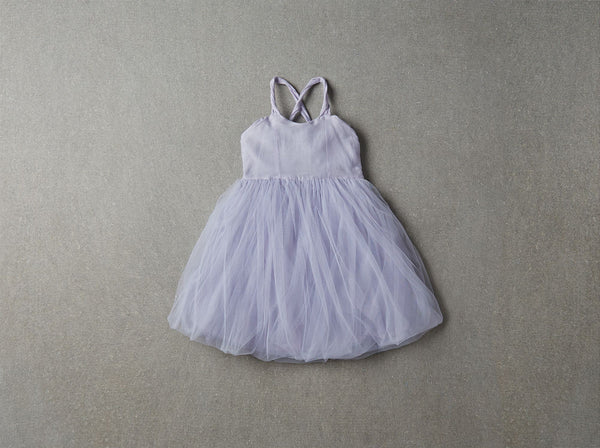 Nellystella Peach Dress in Periwinkle