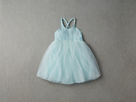 Nellystella Peach Dress in Soft Mint