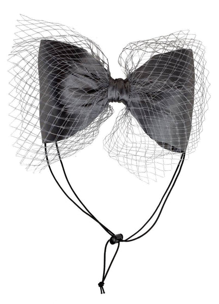 Project 6 NY Kids Black and White Avant Garde Grand Bow Headband available for rent from The Borrowed Boutique.