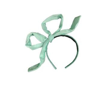 Project 6 NY Kids Party Headband in Mint available for rent from The Borrowed Boutique.