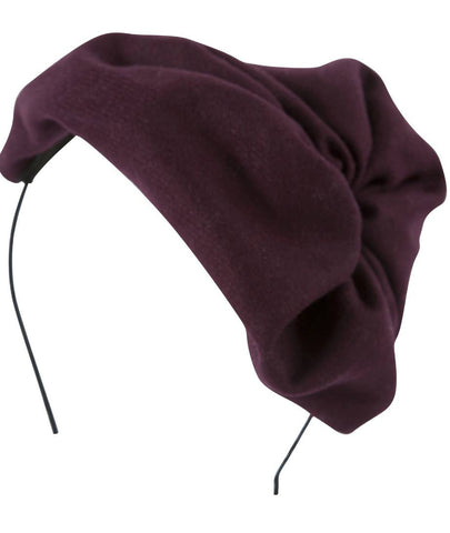 Project 6 NY Kids Burgundy Petite Hat Headband available for rent from The Borrowed Boutique.
