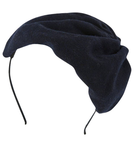 Project 6 NY Kids Navy Blue Petite Hat Headband available for rent from The Borrowed Boutique.