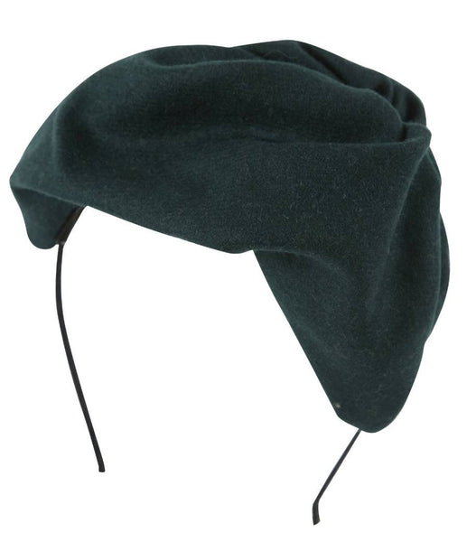 Project 6 NY Kids Hunter Green Petite Hat Headband available for rent from The Borrowed Boutique.