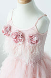 Tutu Du Monde Queen of Roses Tutu Dress In Marshmallow