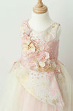 Soapbox Royal Icing Gown In Pink and Gold