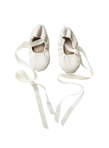 Tutu Du Monde En Pointe Ballet Flats in Milk available for rent from The Borrowed Boutique.