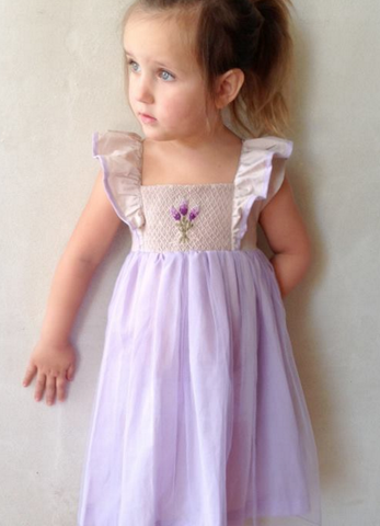 Well Dressed Wolf French Lavender Dress