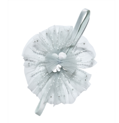 Tutu Du Monde Angel Cake Headband in Whisper available for rent from The Borrowed Boutique.