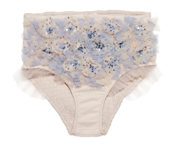 Tutu Du Monde Oasis Bloom Shorts in Orchid available for rent from The Borrowed Boutique.