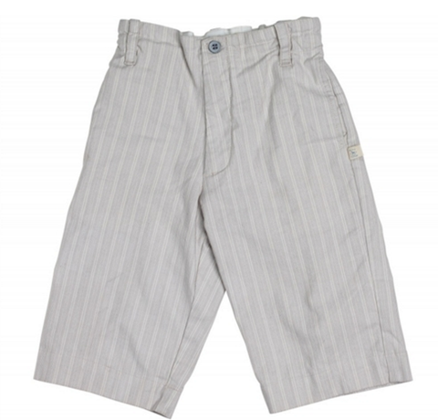 Blu Pony Vintage Grey Mel O Pants in Cream Stripe