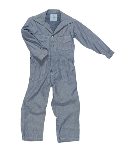 Blu Pony Vintage Coverall in Navy