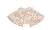Soapbox Kids Starflower Cape In Milk and Soft Pink. Available for rent from The Borrowed Boutique.
