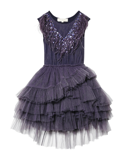 Tutu Du Monde Black Bird Tutu Dress In Night Sky.