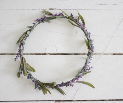 Miss Stevi Marie Simple Lavender Halo Crown