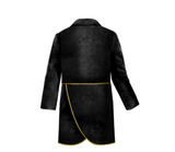 Lazy Francis Boys Black Velvet Tail Coat