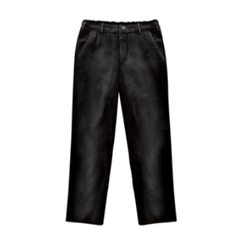 Lazy Francis Black Velvet Boys Pant