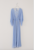 Fillyboo I Believe in Unicorns Women's Maxi Dress in Powder Blue